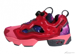 Reebok's Instapump Fury and Gundam collaborate for a release